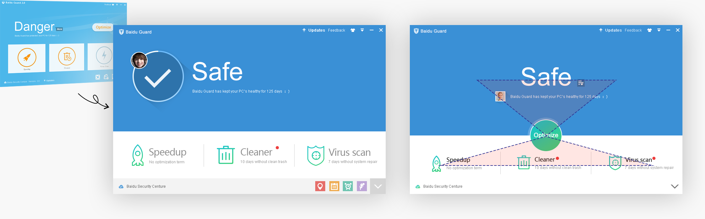 home screen layouts