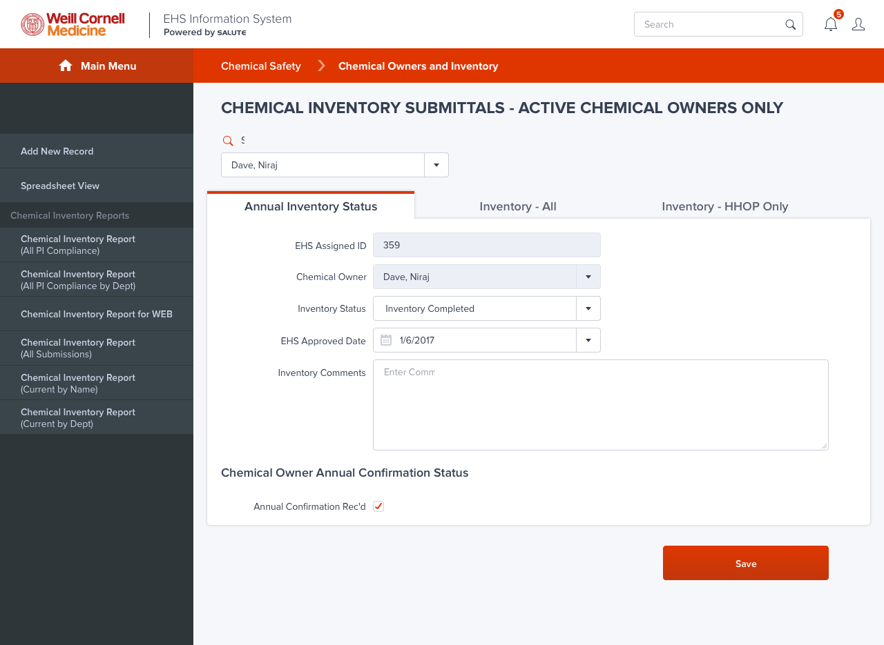 Chemical Safety/Chemical Owners and CT Inventory/Tab1